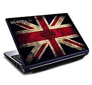 """Grã-Bretanha união bandeira etiqueta protetora da pele padrão jack laptop para 15.6 """""""