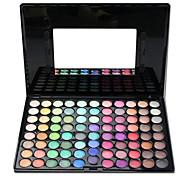 88 Palette de Fard à Paupières Sec / Lueur / Matériel Fard à paupières palette Poudre Grand Maquillage Smoky-Eye / Maquillage Quotidien