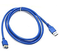 1.5M 4.92FT USB 3.0 AM to AF Extended Data Cable