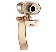 Webcam 12 megapixel Aoni a9 com microfone embutido