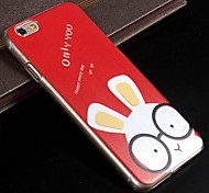 Painted Cartoon Rabbit PC Hard Case for iPhone 6