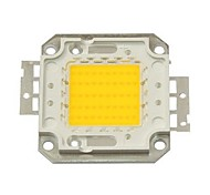 50w 4500lm 3000k bianco caldo led chip (30-35v)