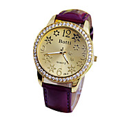 Women's Rhinestone Pin Wuminous Watch