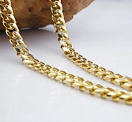 Golden Chain Necklaces Wedding / Party / Daily / Casual / Sports Jewelry