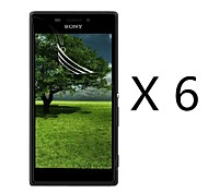 High Definition Screen Protector for Sony Xperia M2 S50h(6 pcs)