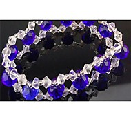 Perline fai da te 10 pc / sacchetto di modo 3 millimetri di vetro cristallo di diamante multicolore (colore misto)