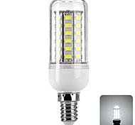 6W E14 Bombillas LED de Mazorca 56 SMD 5730 450 lm Blanco Fresco AC 100-240 V