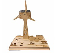 Windmill Solar Power Assembled Toy For Decation or Gift