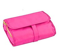 Pink Portable Multifunctional Cosmetic Bag Travelling Makeup Storage Bag