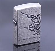ZORRO Vintage Style Bronze Kerosene Lighter