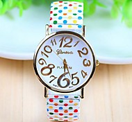 Women's Fashion Style Steel Band Quartz Analog Wrist Watch (Assorted Colors)