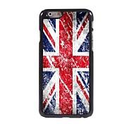 der Union Jack-Muster Aluminium Hard Case für iPhone 6 Plus