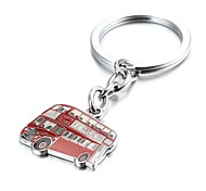 England Red London Bus Zinc Alloy Keychain(First 10 Customers With Box Added)