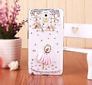 LUXURY Diamond Ballerina Girl Back Cover Case for Samsung Galaxy Note 3 N9006(Assorted Colors)