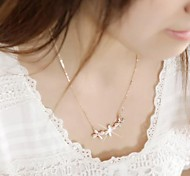 Fashion Sweet Butterfly Pendant Short Necklace