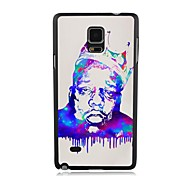Elonbo The King of Serious Plastic Hard Back Case Cover for Samsung Galaxy Note 4