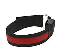 LED Light Arm Band Strap Armband Red (2xCR2032)