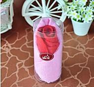 tovagliolo creativo regalo di compleanno fibra forma rose (colore casuale)