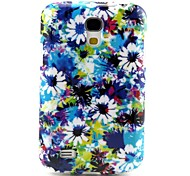 Floral Pattern TPU Soft Back Cover for Samsung Galaxy S4Mini l9190