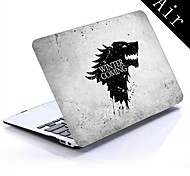 Winter is Coming Design Full-Body Protective Plastic Case for 11-inch/13-inch New MacBook Air