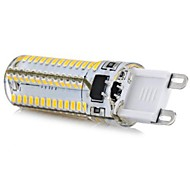 G9 5W 104 SMD 3014 600 LM Cool White T LED Corn Lights AC 110-130 V