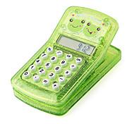 glücklicher Frosch Clip Magnet Taschenrechner