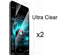 2 x Ultra Clear High-Definition-Display-Schutz mit Putztuch für iphone 6s plus / 6 Plus
