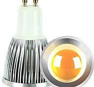 2pcs regulable gu10 6w epistar mazorca 600lm blanco frío / caliente bulbo llevado luz del punto (CA 110 / 220v)