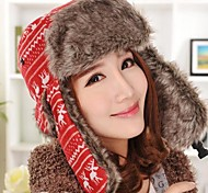 Women Wool Blend Trapper Hat , Cute Winter