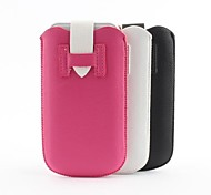 New Design Litchi Grain PU Leather Pouch Bag with Buckle for iPhone 6 (Assorted Colors)