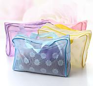 moda chuveiro à prova d'água transparente saco k1380