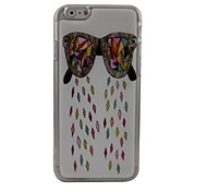 Cartoon Glasses Plastic Hard Back Cover for iPhone 6