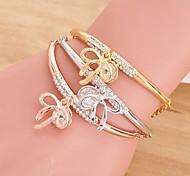 I FREE SILVER®Women's Fashion Mosaic Zircon Charm Bracelets 1 pc