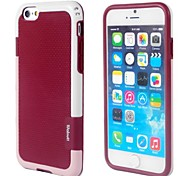 Mixed Colors  Design TPU Case for iPhone 6(Assorted Colors)