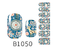 YeManNvYou®14PCS Fashion Dream Deer Style Nail Art Glitter Sticker B1050