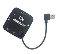 90 Degree Right Angled Combo USB 2.0 3Ports HUB & All in one SD MS MMC TF Memory Card Reader