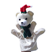 Christmas Snow Bear Large-sized Hand Puppets Toys