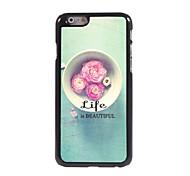 Das Leben ist schön Muster Aluminium Hard Case für iPhone 6