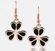 Clover Gold-plated Earrings Fashion and Personality