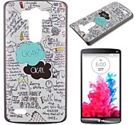 The Fault In Our Stars Pattern PC Hard Case for LG G3