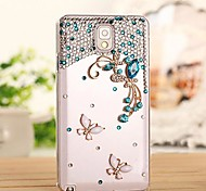 LUXURY Diamond Butterfly Back Cover Case for Samsung Galaxy Note 3 N9006(Assorted Colors)
