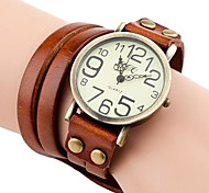 Women's Vintage Style Long Strap Leather Band Quartz Analog Bracelet Watch (Assorted Colors) Cool Watches Unique Watches Fashion Watch