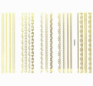 Lovely Nail Art Stickers Decals Wedding Lace Series Nail Accessory for Acrylic Nail Tips DIY Nail Art DecorationsNO.03