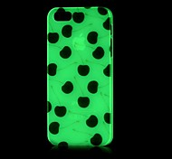 Black Cherry Pattern Glow in the Dark Hard Case for iPhone 4/4S