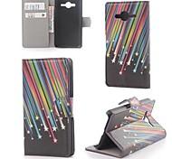 Meteorschauer Leder mit Stand und Kartenslot für Samsung Galaxy Core 2 g355h