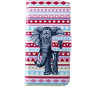 Amore modello elefante tappeto cuoio dell'unità di elaborazione della copertura del corpo intero con slot per schede di lg Google Nexus 5