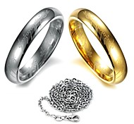 Lord of the Rings Scripture Tungsten Steel Ring(Send Necklace)