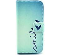 Коко fun® милой картины сердце ПУ кожаный чехол с Protecter экраном и стилусом для Samsung Galaxy s4 мини i9190