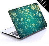 Vintage Floral Wall Design Full-Body Protective Plastic Case for 11-inch/13-inch New MacBook Air