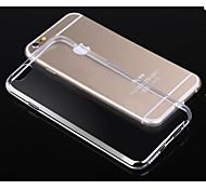 toophone® joylandcrystal étui souple TPU clair transparent de 0,3 mm de silicium pour l'iphone 6 (4.7 ') (couleur assorties)